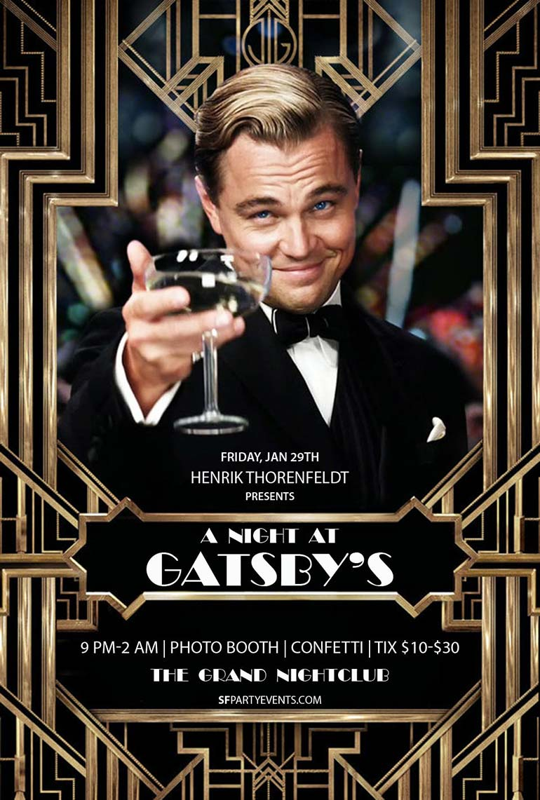Henrik Presents Events A Night At Gatsby S The Grand