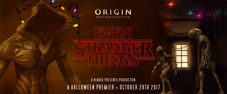 Henrik Presents - Events | Halloween Party - Origin Boutique ...