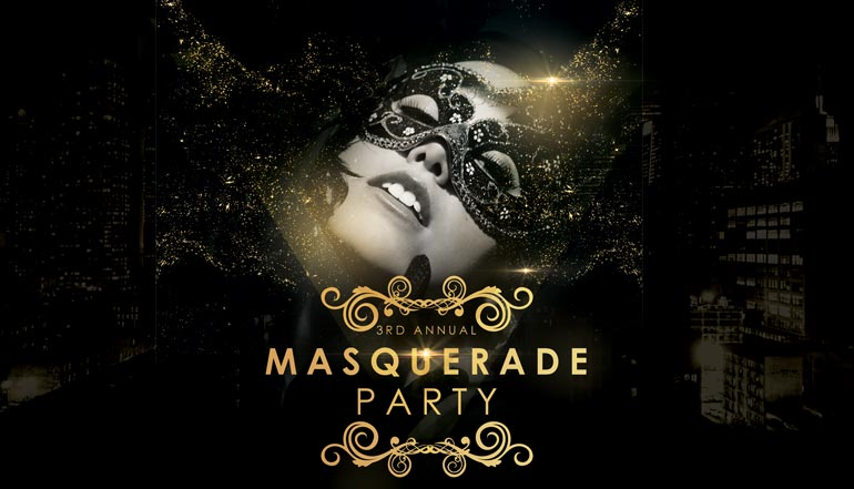 Henrik Presents - Events | The 3rd Annual Masquerade Party ...